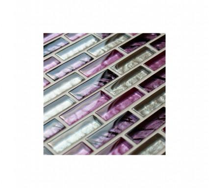 Safari Mosaic Brick Glass Tiles